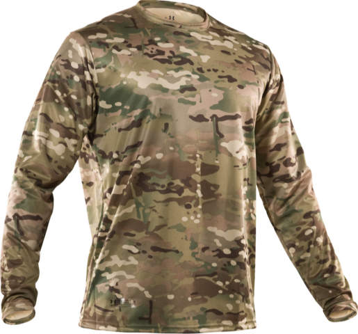 Футболка дл/р Under Armour MultiCam LS Tee, SM