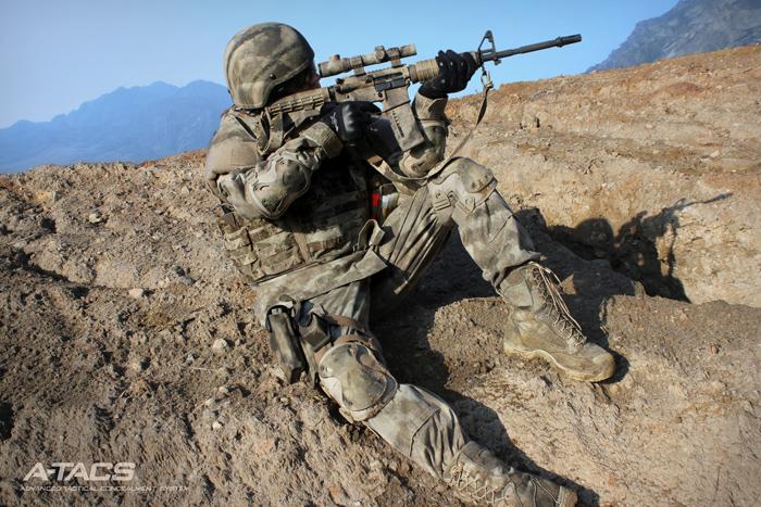 Экипировка одежда Propper A Tacs для снайпера и охотника