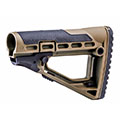 Приклад CAA Tactical SBS Skeleton Style Collapsible Stock, Coyote Tan