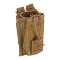 Подсумок для радиостанции 5.11 Tactical Radio Pouch, Flat Dark Earth
