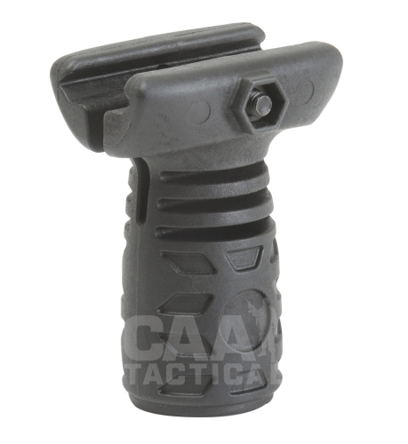Рукоятка короткая CAA Tactical TVG Short Vertical Grip Side Clip, Black